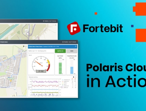 Polaris Cloud in Action – track a whole group of vehicles from one Cloud dashboard