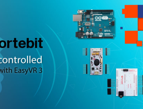 Voice-controlled Arduino with EasyVR 3