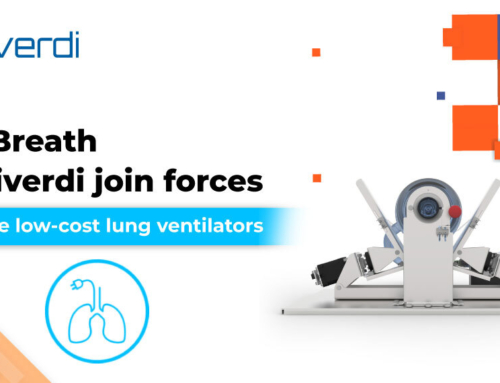 OpenBreath and Riverdi join forces to produce low-cost lung ventilators