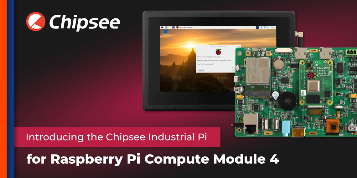 Chipsee Industrial Pi for Compute Module 4